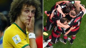 Brazil player crying